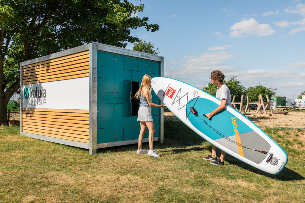 kolula SUP Station mit Board