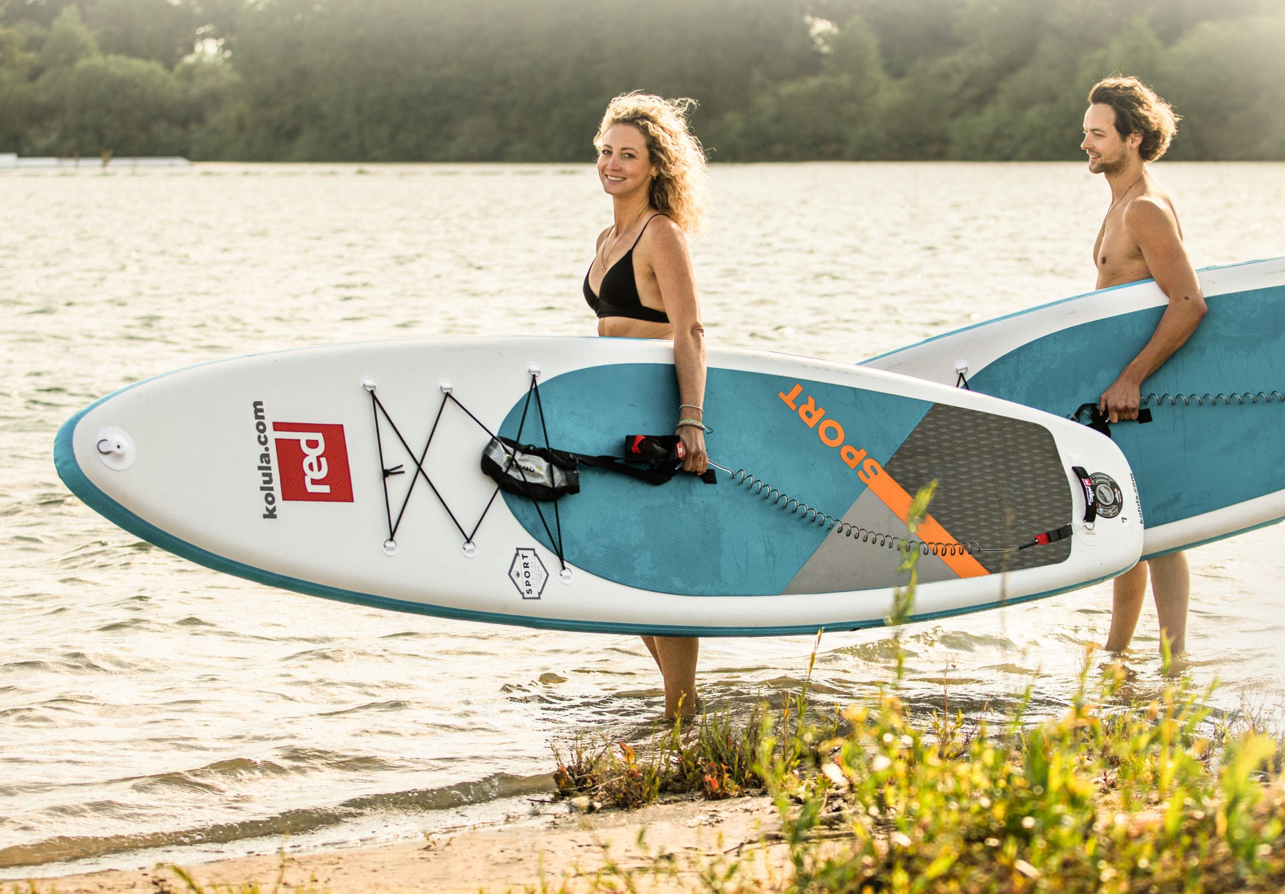 kolula SUP - ready to paddle