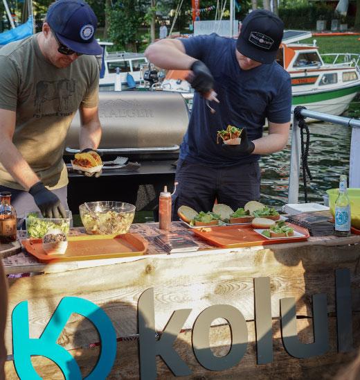 kolula SUP - Traeger Grills BBQ