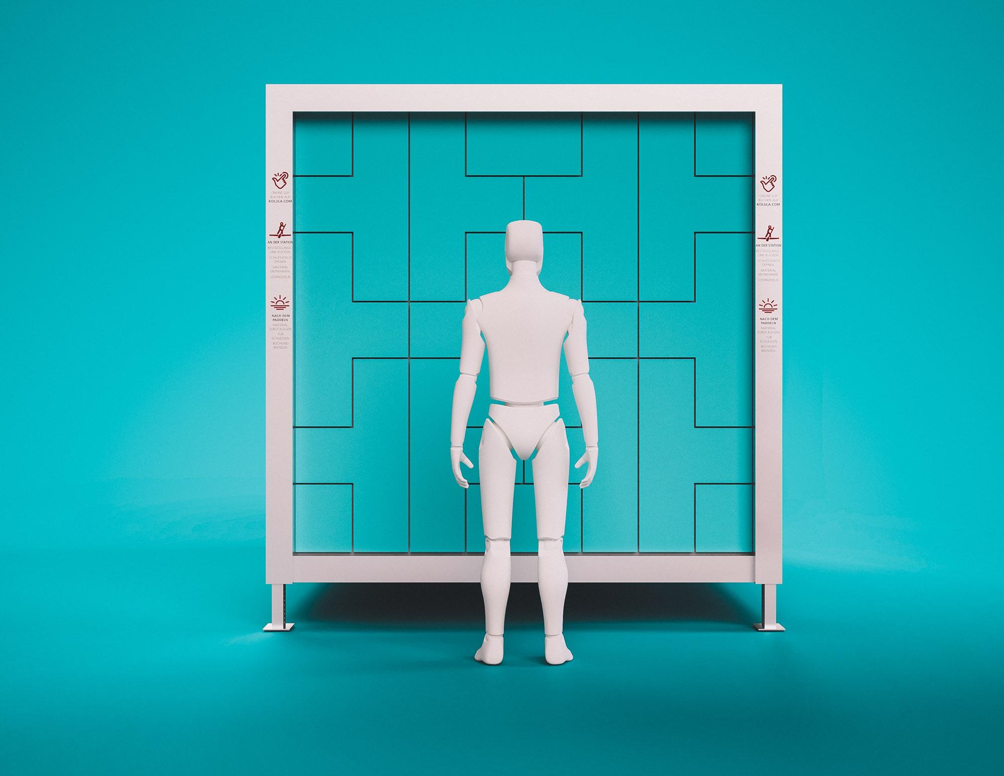 kolula - rendering Türen